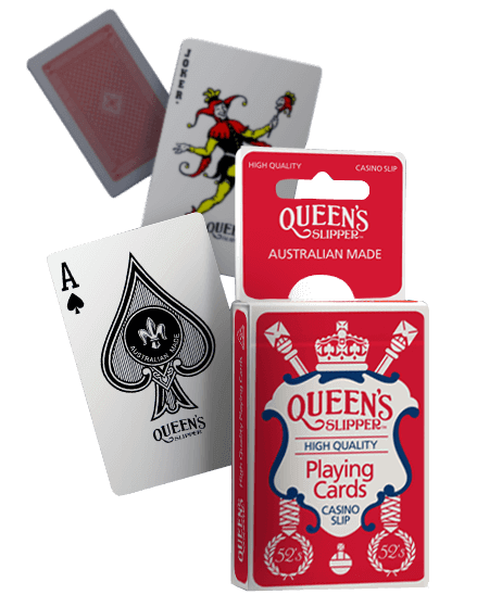 12 pack Queen/'s Slipper Playing Cards Deck Bridge Size Casino Slip Quality